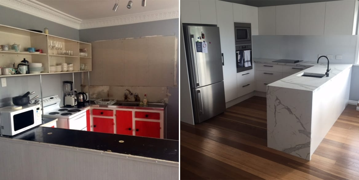 New Kitchens renovations sunshine coast